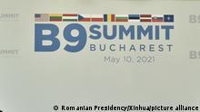 Rumänien Bukarest | B9-NATO-Treffen Logo