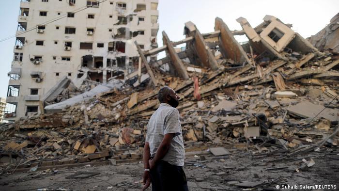 ریزش ساختمانی ۱۳ طبقه در غزه، ۱۲ ماه مه ۲۰۲۱