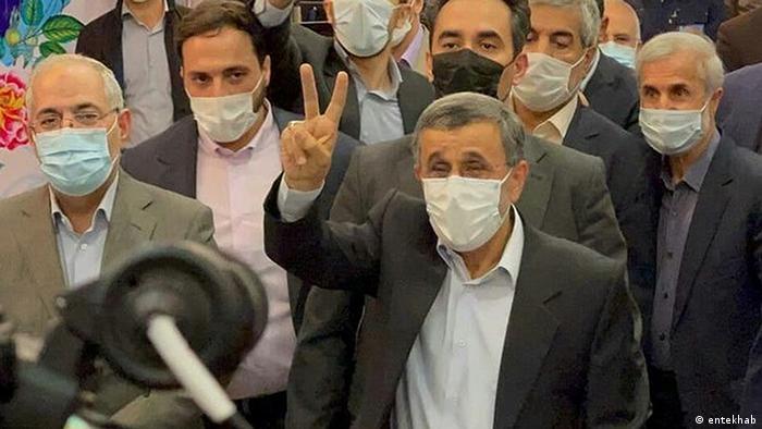 Iran Mahmud Ahmadineschad | Wahlkampf