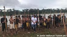 Brasilien Indigene Yanomami in der Gemeinde Palimiu