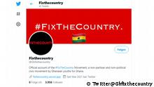 Fixthecountry @Ghfixthecountry Official account of the #FixTheCountry Movement, a non-partisan and non-political civic movement by Ghanaian youths for Ghana.