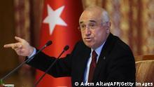 Türkei Cemil Cicek AKP Politiker und ehemaliger Justizminister