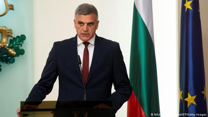 Bulgarien Interims-Premierminister Stefan Yanev