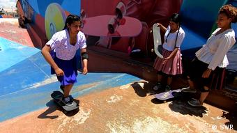 Global 3000   GLOD Bolivien Skaterinnen