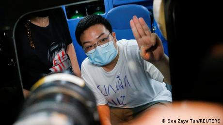 Parit Chiwarak is one of the key figures in the youth-led protest movement calling PM Prayuth Chan-ocha's resignation