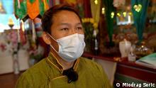 Der tibetische Einwanderer Tenzin.