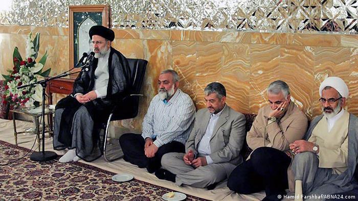 رئیسی، نقدی، جعفری، سلیمانی و حاجصادقی نماینده خامنهای در سپاه