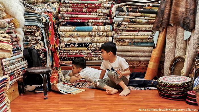 China Uiguren Xinjiang Kinder Geburtenrate