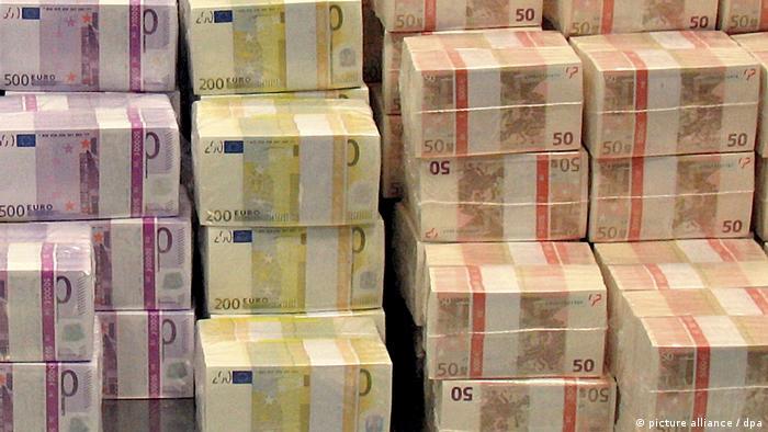 Symbolbild I Finanzen I Haushalt I Euro