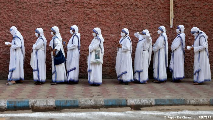 Nuns in Kolkata