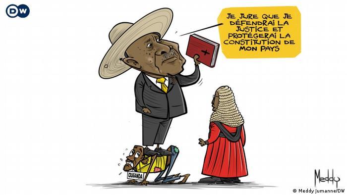 6th presidential term ceremony of Ugandan President Yoweri Museveni