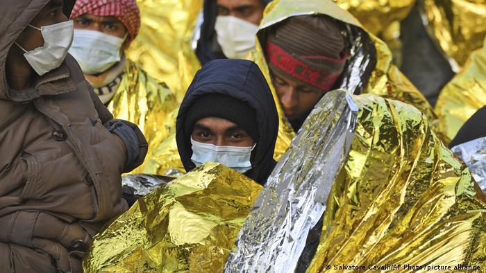 Italien Lampedusa | Coronavirus | Ankunft Flüchtlinge