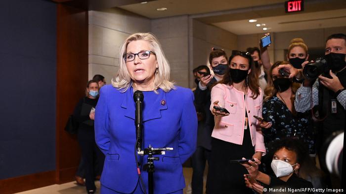 Republikaner werfen Trump-Kritikerin Liz Cheney aus Fraktionsführung