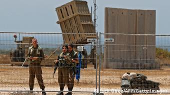 Установки израильской системы ПВО Железный купол в пригороде Ашкелона, май 2021 года