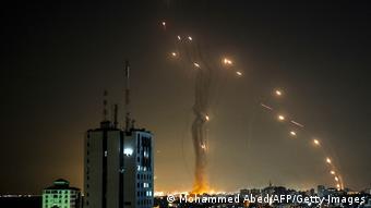 Ракеты в небе над Израилем