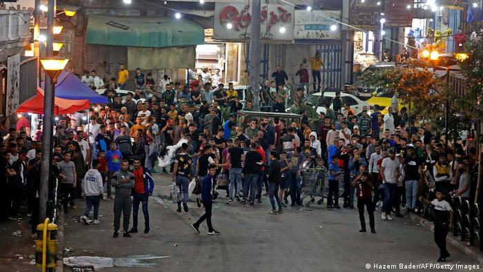 Disturbios ayer miércoles en el West Bank de la ciudad de Hebrón.