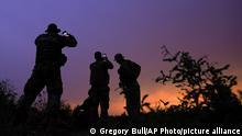 BdTD USA Beamte an der Grenze zu Mexiko