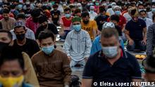 Bildergalerie Fastenbrechen Philippinen Manila Eid al-Fitr