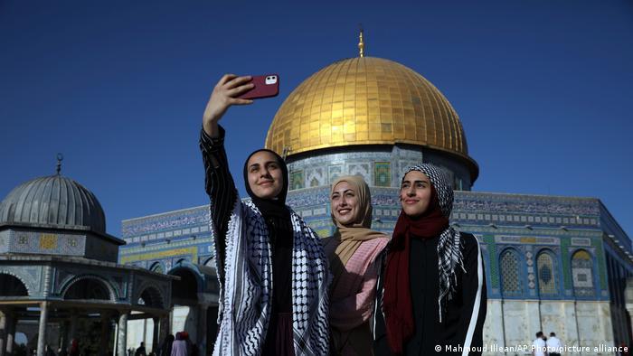 Bildergalerie Fastenbrechen Jerusalem Eid al-Fitr