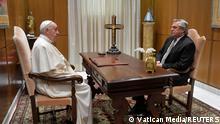 Vatikan | Papst Franziskus trifft Alberto Fernandez