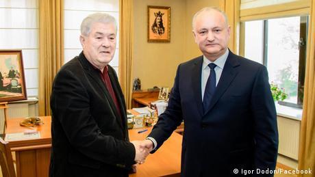 Igor Dodon şi Vladimir Voronin