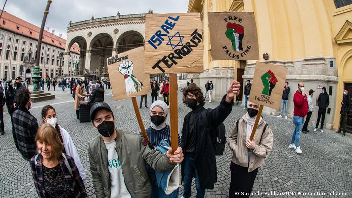 Deutschland München | Free Palestine | Demonstration