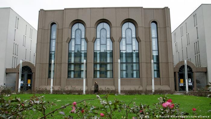 Deutschland Mannheim | Jüdische Synagoge | Außenansicht