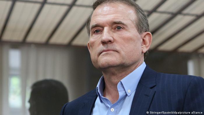 Украинский политик Виктор Медведчук