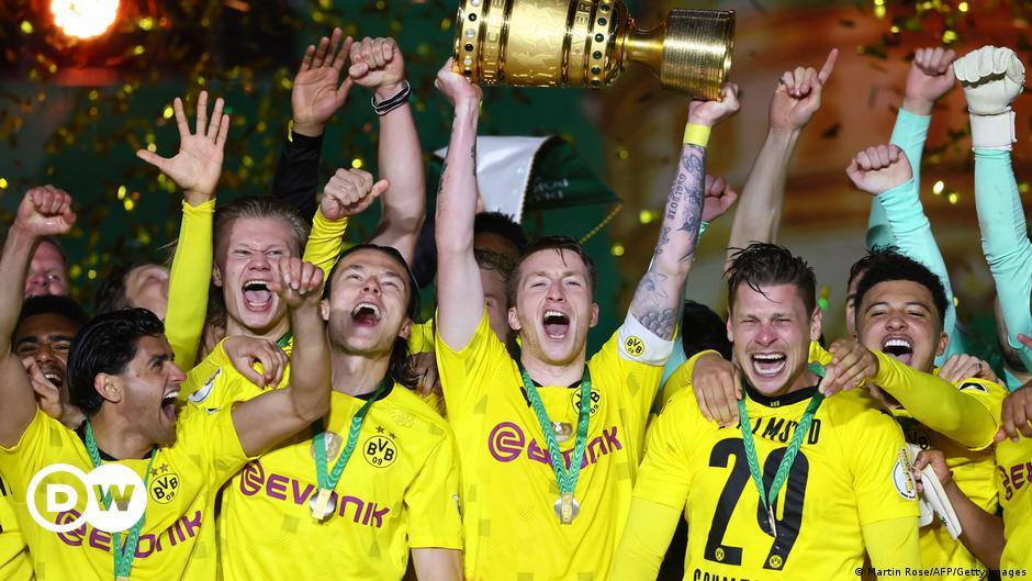 Ruthless Borussia Dortmund teach RB Leipzig's Nagelsmann a bitter lesson in German Cup triumph