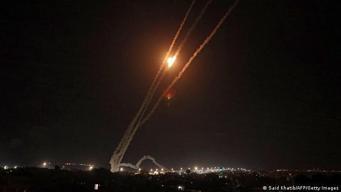Rachete lansate asupra Israelului din Fâşia Gaza (14.05.2021)