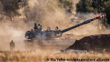 Israel Sderot | Panzer feuert auf Gazastreifen