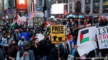 Bildergalerie Weltweiter Protest auf den Konflikt zwischen Palästina und Israel