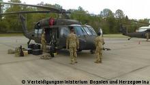 Bosnien und Herzegowina Nato-Manöver Defender Europe 2021