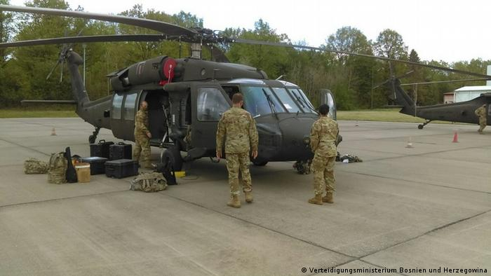 Helikopteri spremni za manevre u BiH