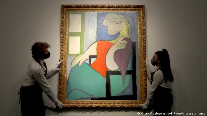 Bild Sitzende Frau am Fenster von Pablo Picasso