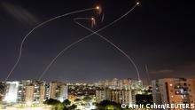 Залізний купол перехоплює ракети над Ашкелоном