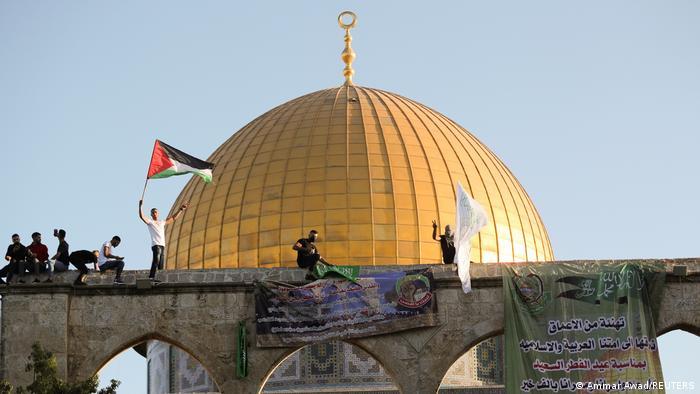 Ost-Jerusalem | Palästinenser feiern Fest des Fastenbrechens