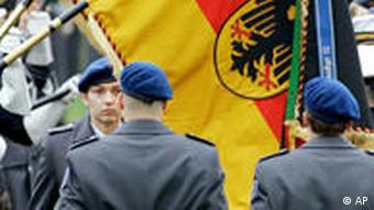 German military recruits