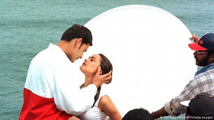 A Bollywood intimate scene