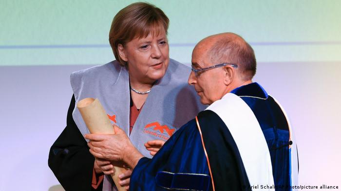 Merkel prima počasni doktorat Sveučilišta Haifa