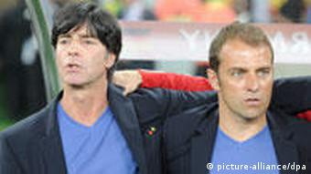 Joachim Löw and Hansi Flick