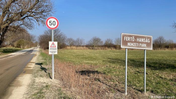 Fertörakos Gefährlicher Abschnitt Straße