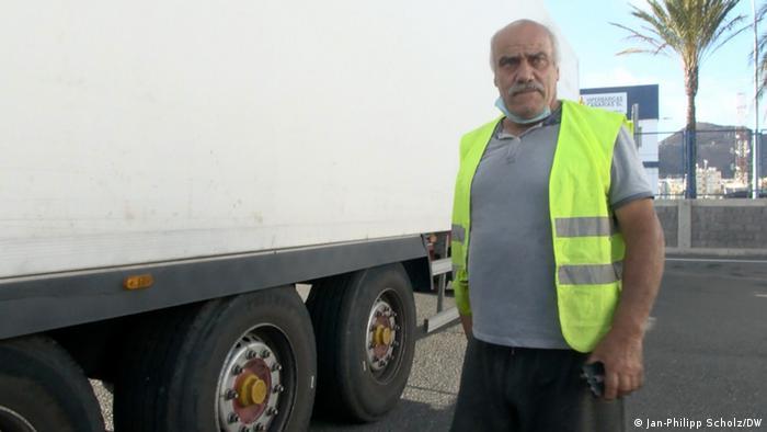 Las Palmas LKW-Fahrer Rafael