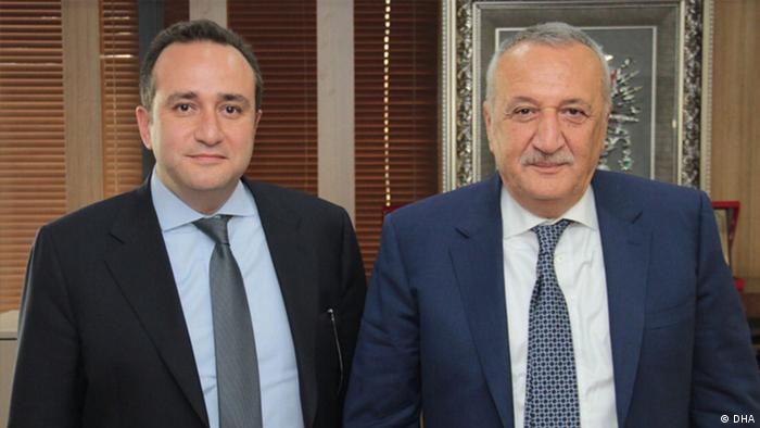 Mehmet Ağar ve AKP'li milletvekili oğlu Tolga Ağar