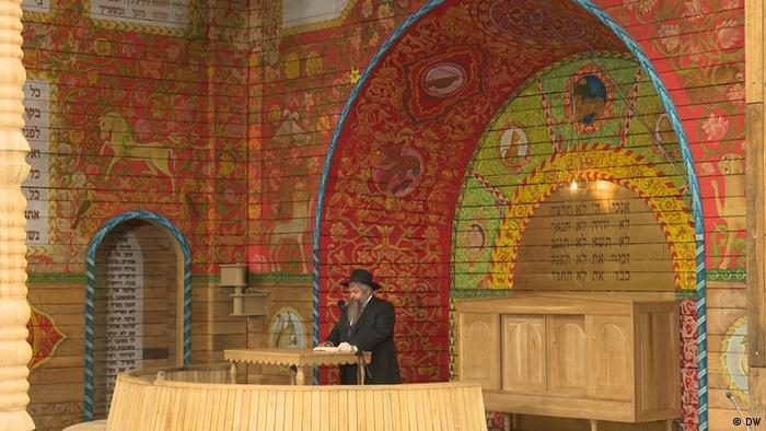Videostill DW-Beitrag I Eröffnung einer Synagoge am Babyn Jar, Ukraine