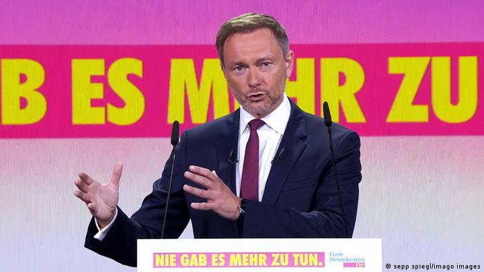 Deutschland I Bundesparteitag FDP I Christian Lindner
