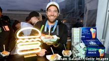 NEW YORK, NEW YORK - OCTOBER 11: Mark Rosati of SHAKE SHACK attends the Blue Moon Burger Bash presented by Pat LaFrieda Meats hosted by Rachael Ray at Pier 97 on October 11, 2019 in New York City. Noam Galai/Getty Images for NYCWFF/AFP (Photo by Noam Galai / GETTY IMAGES NORTH AMERICA / Getty Images via AFP)