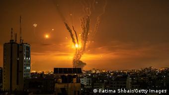 Εκτόξευση ρουκετών από τη Γάζα