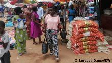 Guinea-Bissau | Markt in Bissau | Lebensmittel