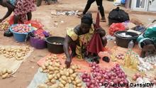 Markt in Bissau, Guinea-Bissau. Foto: Mai 2021. Foto: Mai 2021 via Guilherme Correia da Silva